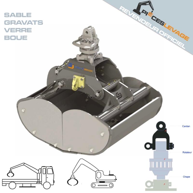Benne preneuse GOA bakker hydraulic