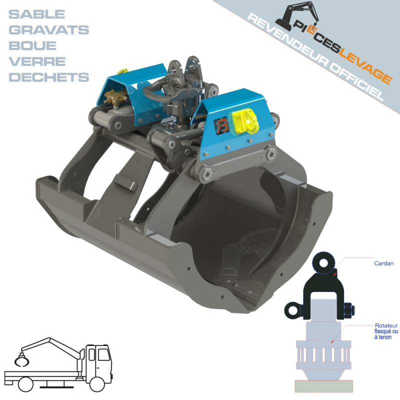 Benne BDVEZ Bakker hydraulic - 1